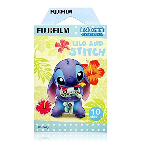 Fujifilm Instax Mini Instant Film (10 sheets, Disney Lilo and Stitch)