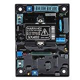 Regolatore di tensione, SX460 Input 190-264VAC Regolatore automatico di tensione del motore Modulo di controllo del generatore AVR Accessori per generatore senza spazzole in 80KW
