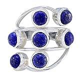 Magnifique bijou en argent sterling lapis lazuli bague bijoux Stella et Dot
