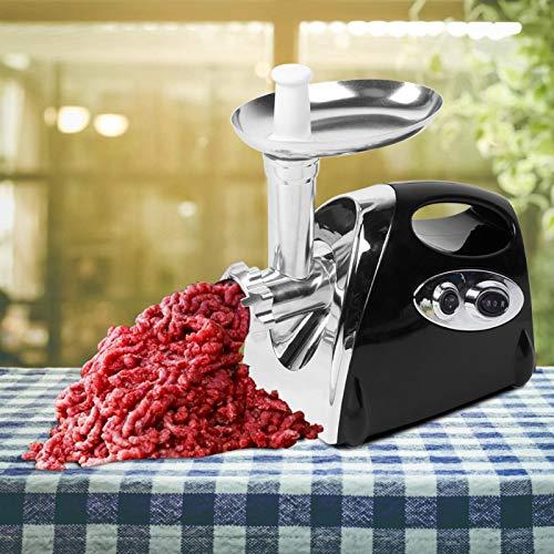 Multifunktionales schwarzes Fleischwerkzeug Safe ABS Material Fleischwolf für Metzgereien(European standard 220-240V)