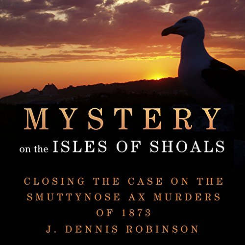 Mystery on the Isle of Shoals audiobook cover art
