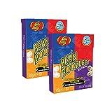 2 cajas con tapa de tirón de Jelly Belly Bean Boozled