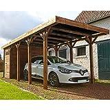 MADEIRA – MADEIRA – Carport 1 coche madera tratada autoclave – Harry
