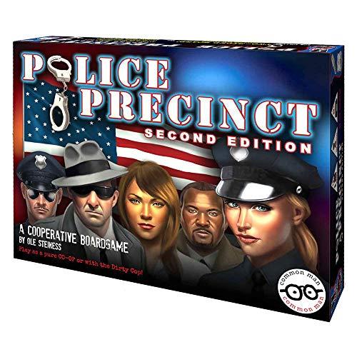 Common Man Games Police Precinct 2nd Edition