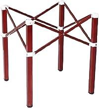Draagbare roestvrijstalen tafelpoten, opvouwbare en telescopische Mahjong tafelsteunpoten, stabiele en stevige grote ronde...
