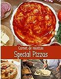 Carnet de recettes spécial pizzas: Cuisinez de délicieux plats Italiens | Grand format 155 pages | Avec fiches détaillées pour toutes vos recettes |