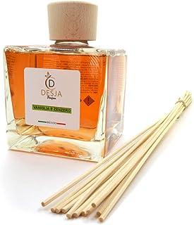 Profumatore ambiente completo di bastoncini 500 ml Profumazione Vaniglia e Zenzero diffusore profumo