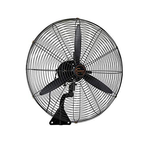 LP Fans grote ventilator, wandventilator, zwart, hoge prestaties, stille kop, industriële ventilator, korenventilator, wandmontage (grootte: 55/68/78 cm)