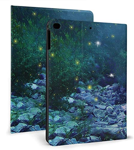 Fire Flies Play with Dragonflies PU Leather Smart Case Auto Sleep/Wake Feature for iPad Air 1/2 9.7' Case