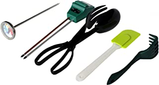 Worm Farm Accessory Kit for Red Wiggler Composting Bins (Moisture Meter, Thermometer, pH Meter + More) - Accessories Are An Essential Part of Any Worm Farm Starter Kit - Perfect For Kids & Adults