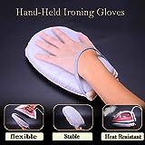 Deyan Hand-Held Mini Repassage Pad Sleeve Porte-planche à repasser Gant résistant à la chaleur pour vêtements Vêtement Steamer Portabe Iron Table Rack