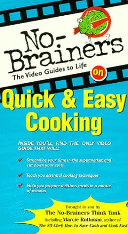Max 68% OFF No-Brainers Quick Easy shipfree VHS Cooking