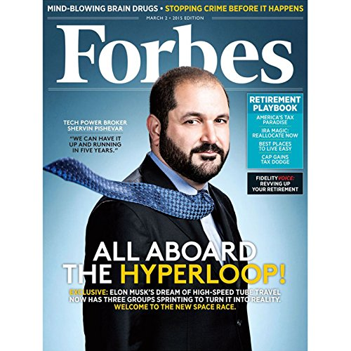 Forbes, February 16, 2015 cover art