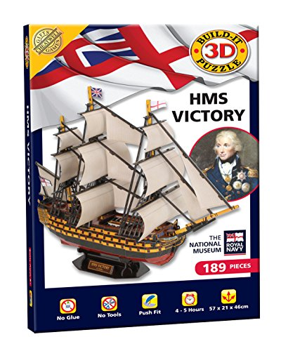 Cheatwell Games 02392 BYO 3D Puzzle HMS Victory