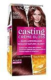 L'Oréal Paris Casting Crème Gloss Coloration Ton sur Ton pour Cheveux - Sans Ammoniaque - Acajou (550)