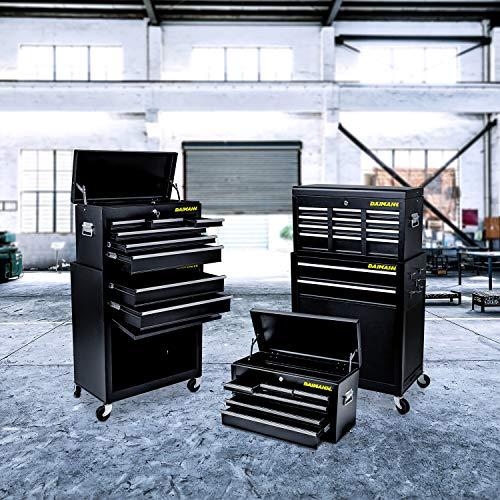 Daimann CT01 Gereedschapswagen, gereedschapskast, gereedschapswagen, met wieltjes