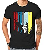 Unofficial Elton John Rocketman Tribute Legend Rock Icon Piano Player T-Shirt (Medium) Black