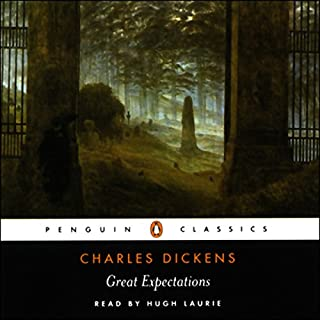 Great Expectations                   By:                                                                                                                                 Charles Dickens                               Narrated by:                                                                                                                                 Hugh Laurie                      Length: 2 hrs and 49 mins     76 ratings     Overall 4.2