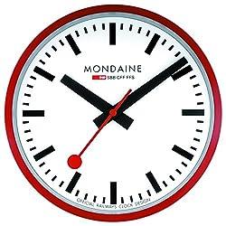 Mondaine A995.Clock.11SBC SBB Metal Wall Clock