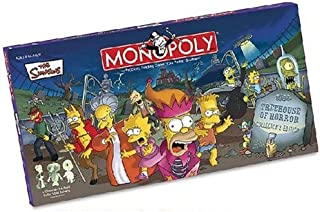 Simpsons Tree House of Horrors Monopoly (Discontinued by manufacturer)