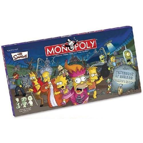 Hasbro Monopoly Simpsons Treehouse of Horror Edizione per Collezionisti