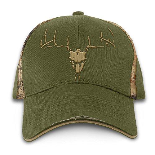 Buck Wear 3D-Totenkopf-Mütze, Mehrfarbig, Einheitsgröße