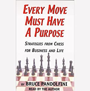 Every Move Must Have a Purpose audiobook cover art