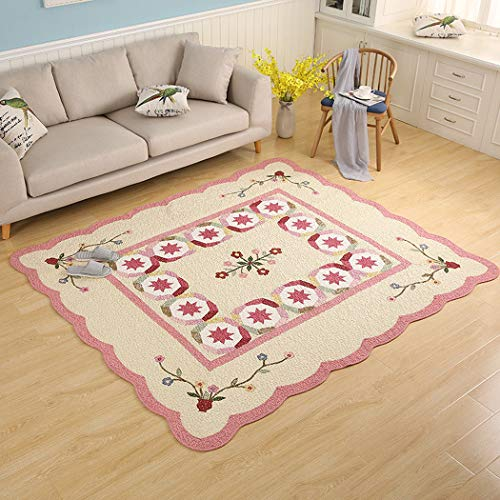 Best Buy! Children's Baby Living Room Mat, Cotton Pastoral Wind Home Crawling Mat Thickening Baby In...