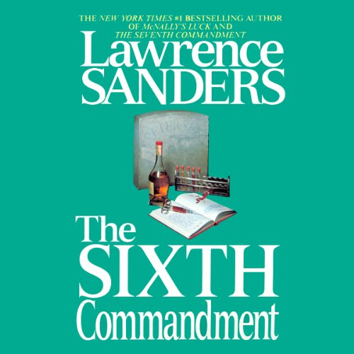 The Sixth Commandment audiobook cover art