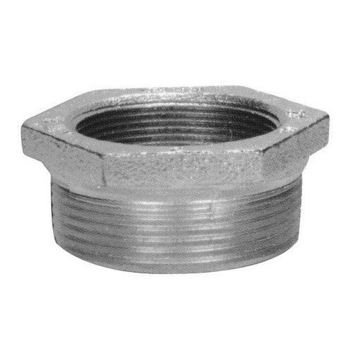 Morris Products 14707 Malleable Reducing Bushing, 3-1/2-3 Trade Size by Morris
