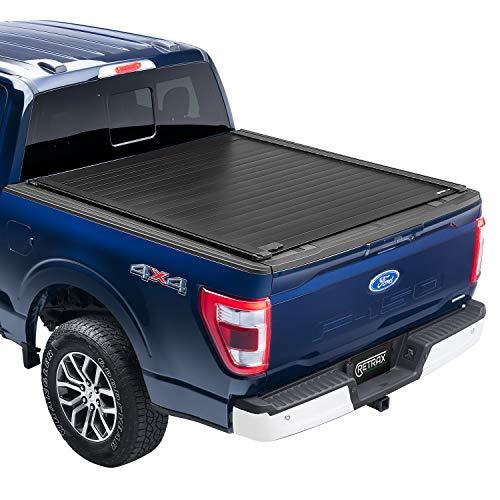 RetraxPRO XR Retractable Truck Bed Tonneau Cover | T-80371 | Fits 2009 - 2014 Ford F-150 Super Crew & Super Cab 5' 7' Bed (67')