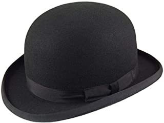 Major Wear Official Men's 100% Premium Wool Bowler Hats in 5 Colours - 4 Sizes
