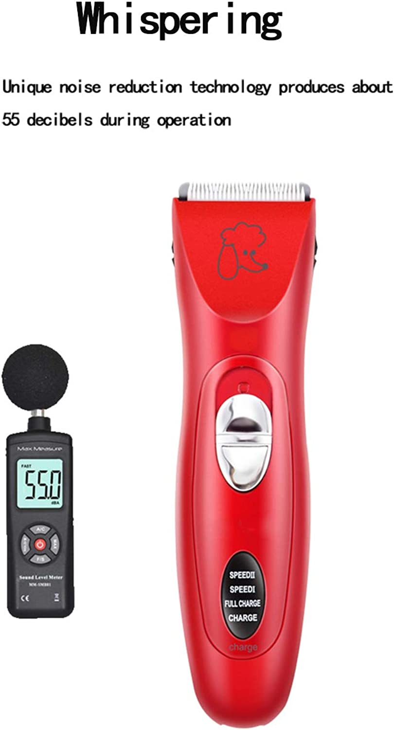 Animal Hair Trimmer,Rechargeable Cardless Hair Low Noise Beauty Tools Cat Dog Hair Trimmer