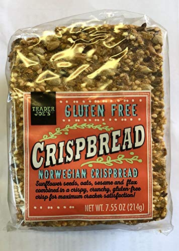 Trader Joe's Gluten Fee Norwegian Crispbread 7.55 Oz (2 pack)