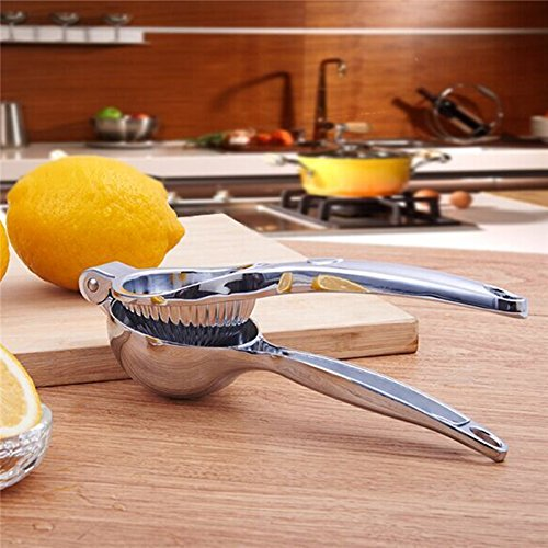 ZEZLL Zitrone-Clip/Obst Mini manuelle Saftpresse/Entsafter/Mixer/Granatapfel Orangensaft Pressmaschine