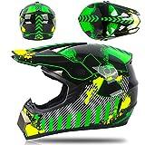 BUETR Motocross casco casco batería coche casco bicicleta de montaña cuesta abajo carrera seguridad completo casco-venom_XL
