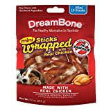 DreamBone Mini Chicken-Wrapped Chews 15 Count, Rawhide-Free Chews for Dogs