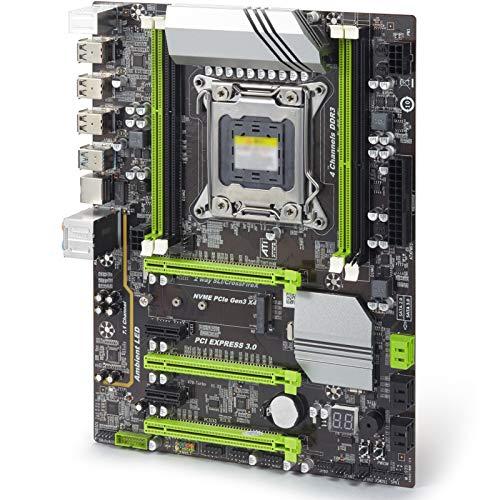 Placa Base Gaming ATX X79 Turbo Placa Base ATX LGA2011 Combos E5...