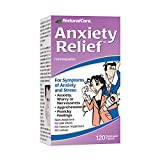 NaturalCare Anxiety Relief | Homeopathic Support for Natural Anxiety & Stress Relief | Quick Dissolve Tablets | HPUS Compliant Supplement | 120 CT.