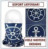 dreamhouse Multifunktionstuch Schlauchschal Bandana Maske mit Motiv   Halstuch Gesichtsmaske  ...