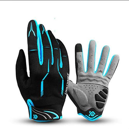 Radfahren Handschuhe Touchscreen Fahrradhandschuhe Sport Stoßfest MTB Road Vollfinger Fahrradhandschuh Für Männer Frau a7 L