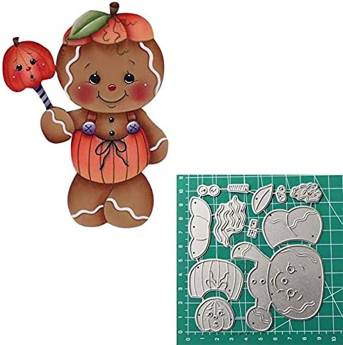 HAS Mountain - Christmas Gingerbread Dies Card Cutting for Makin Selling High material
