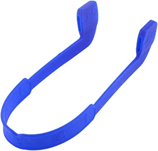 uxcell Silicone Nonslip Eyeglasses Straps Sports Band Cord Holder Blue