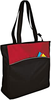 Port & Company Improved Two-Tone Colorblock Tote