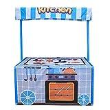 RROWER Cocina/Estación de Ambulancia Play Tent, Carrito de Negocios para Niños para Niños Desarrollo y Aprendizaje - Niños Play Play House para Juegos en Interiores y Exteriores,Kitchen