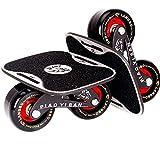 TANG SHI Drift Skates,Pro Skates 70 mm * 42 mm Roues PU avec ABEC-7 roulements Haut de Gamme
