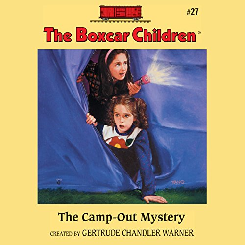 The Camp-out Mystery audiobook cover art