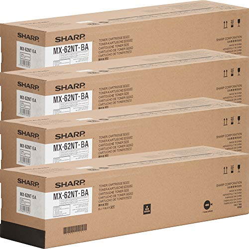 Sharp MX62NTBA Black Toner Cartridge