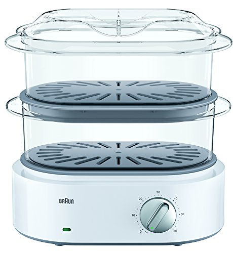 Braun FS 5100 Stoomkoker Identity Collection, Wit