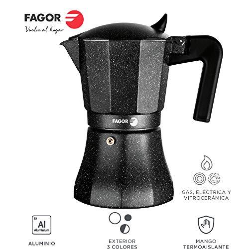 Fagor Tiramisu. La cafetera Tiramisu está Fabricada en Aluminio Extra
